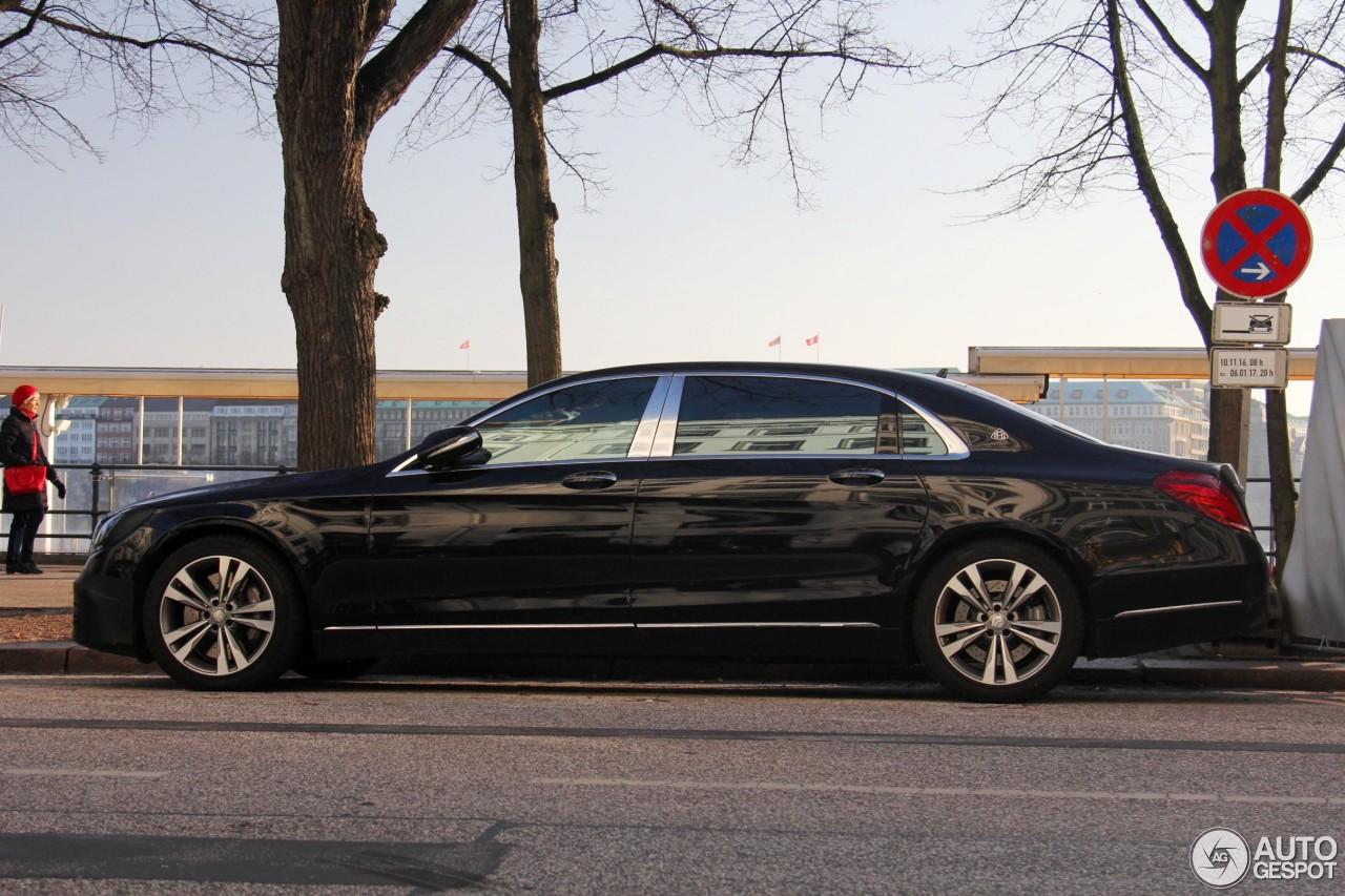 Mercedes maybach s650 2017 29 december 2016 autogespot for Mercedes benz s650