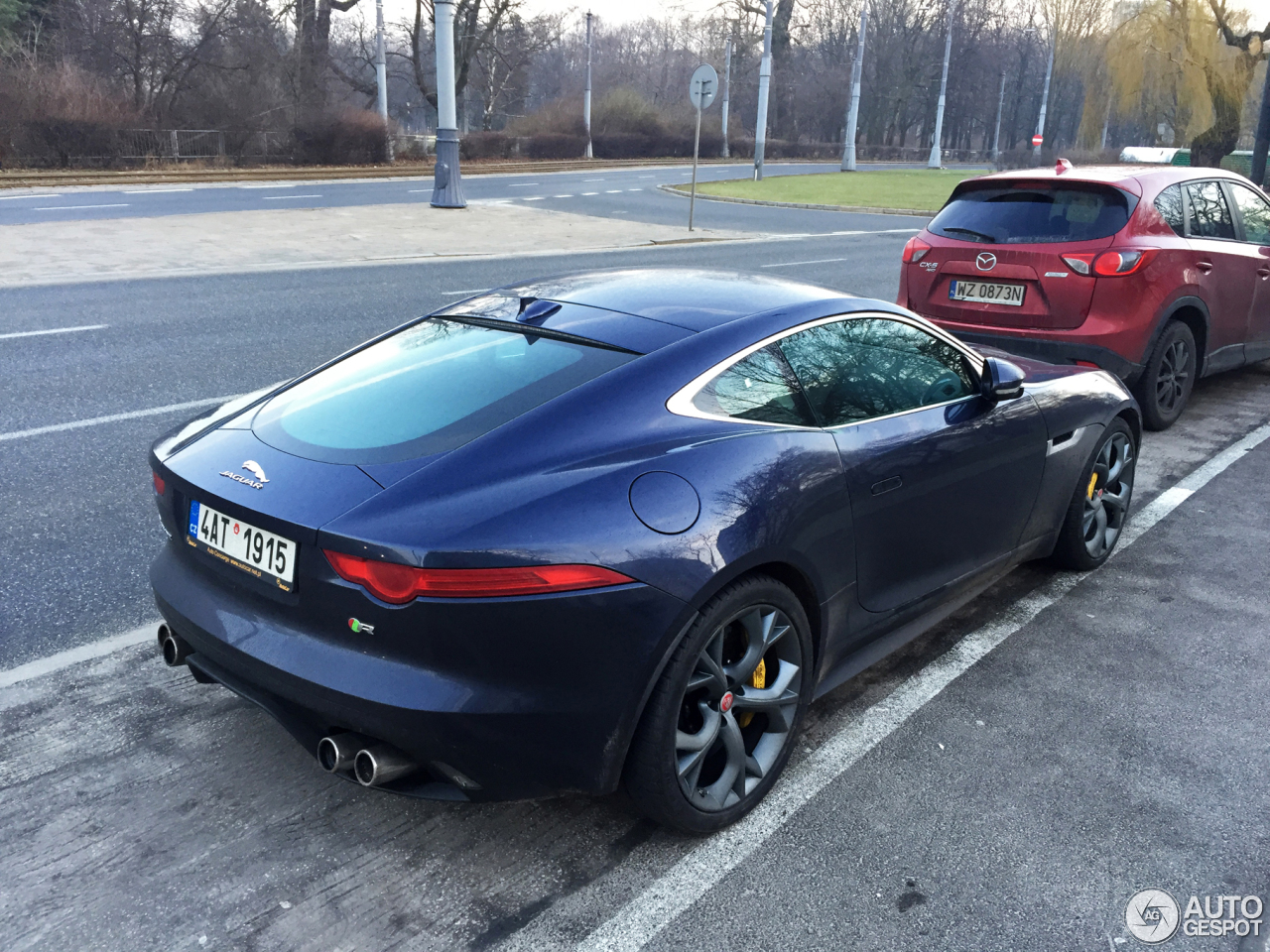 Jaguar f type r coup 30 december 2016 autogespot - Jaguar f type r coupe prix ...