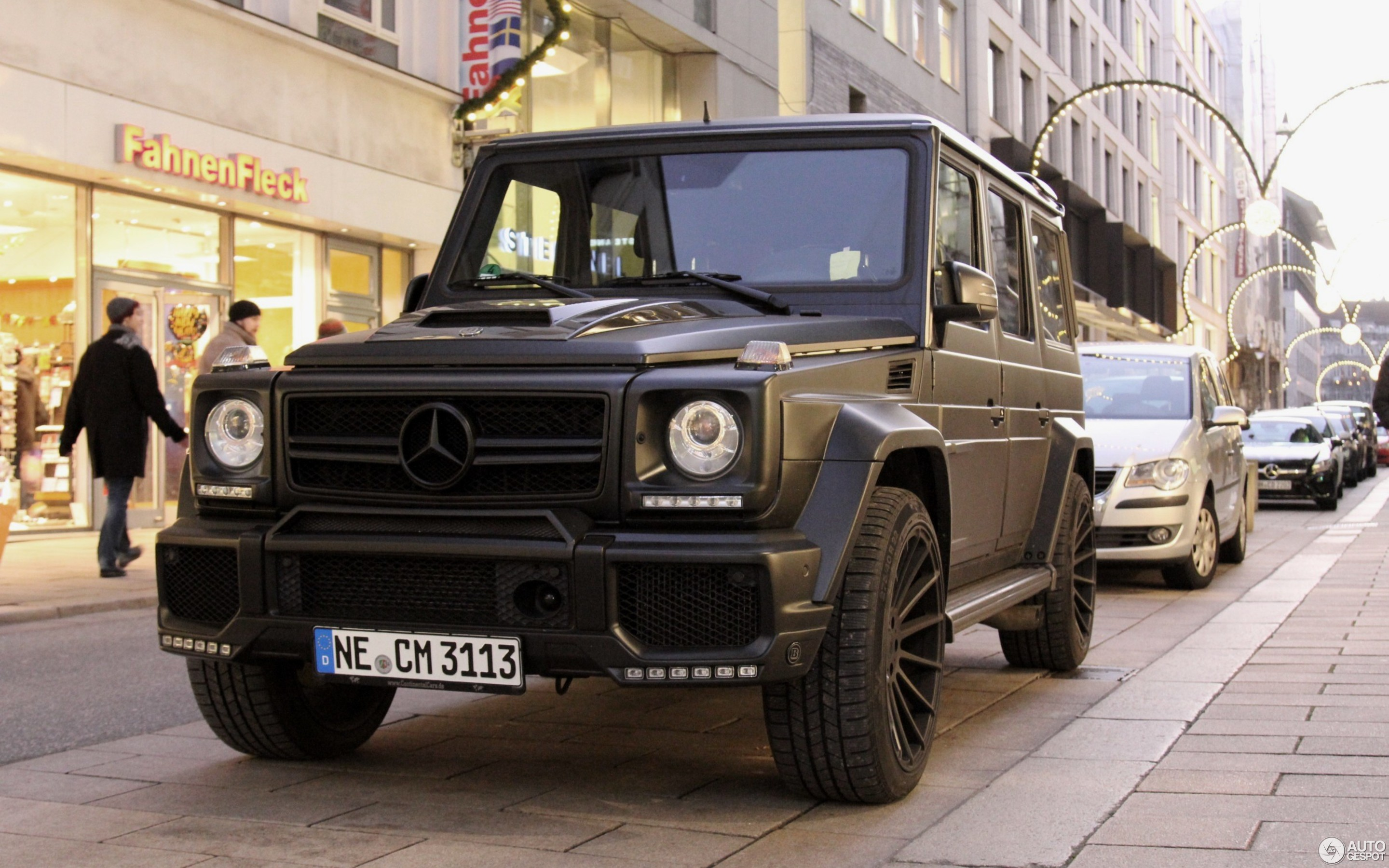 Mercedes Benz Brabus G 700 Widestar 30 December 2016 Autogespot